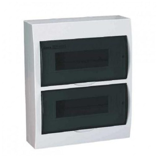 FREDER Lakáselosztó-elosztószekrény elosztó doboz 24 modulos falon kívüli