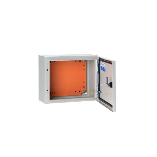 FREDER lemezszekrény 500x400x200mm IP56 szerelőlappal