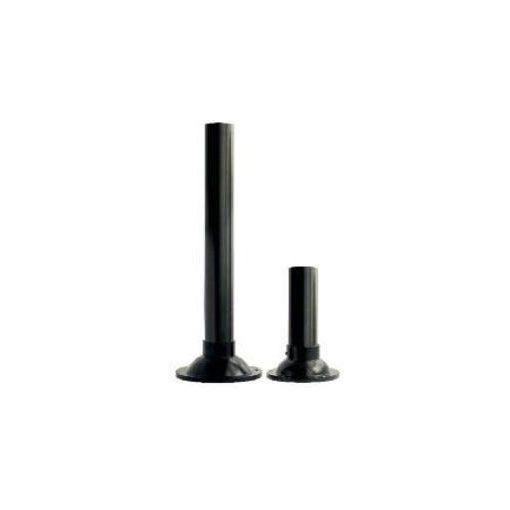 Kerti Lámpa Oszlop Műanyag 25 Cm Magas , Fekete