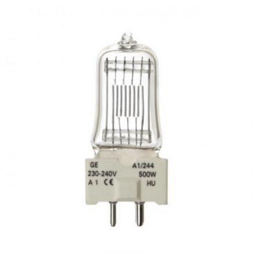 Tungsram /Ge/  230V 500W A1/244 Gy9,5 Vetítő Izzó