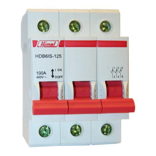 HDB6IS Moduláris kapcsoló 3P 63A