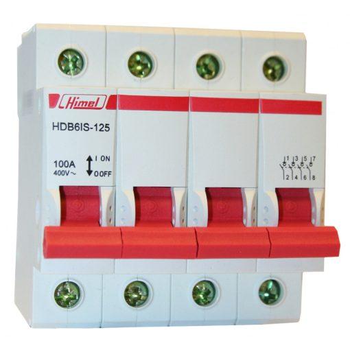 HDB6IS Moduláris kapcsoló 4P 125A