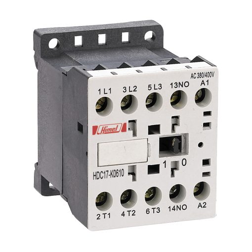 HDC17K Miniatűr mágneskapcsoló 12A 24V 3NO 0NC+0NO 1NC