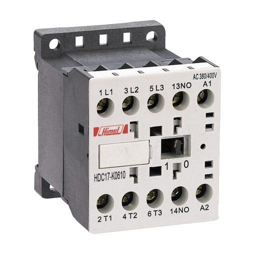 HDC17K Miniatűr mágneskapcsoló 12A 220V 4NO 0NC+0NO 0NC