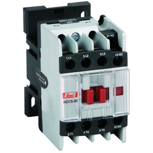 HIMEL HDC6 Mágneskapcsoló 65A 1NO 1NC 24V 50/60Hz