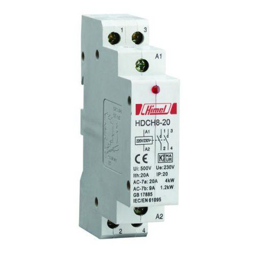 Hdch8P Moduláris Kapcsoló 2P 25A 2No , Installációs kontaktorok