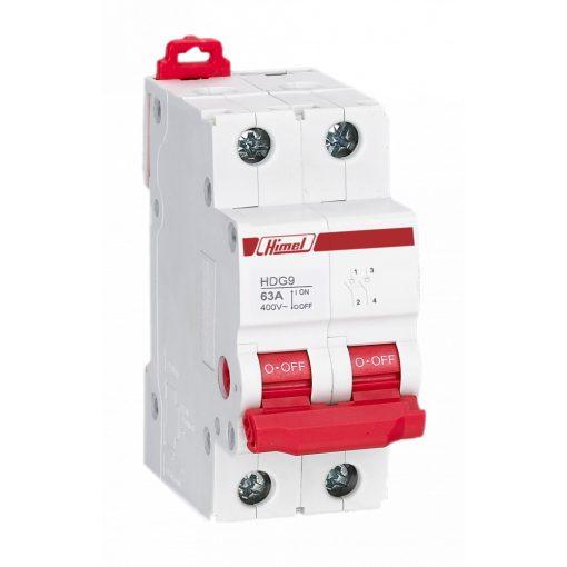 HDG9-125 Moduláris kapcsoló 2P 32A