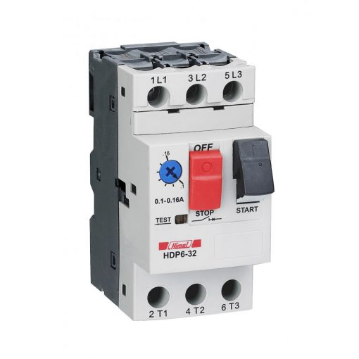 HDP6-32/00 Motorvédő 0.4-0.63A