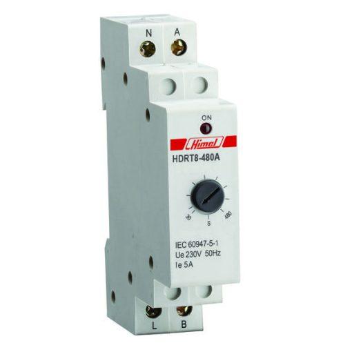 HDRT8 Meghúzáskésleltető időzítő relé 10-120s