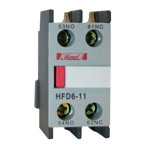 HFD6-22 Mágneskapcsoló kiegészítő Homlokoldali segédérintkező 2NO 2NC