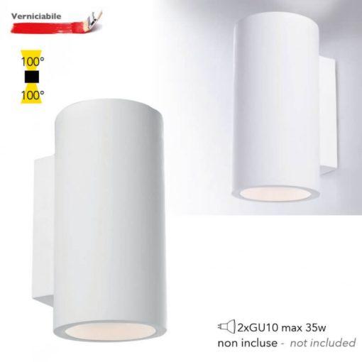 Intec Gipsz Fali Lámpa 2Xgu10