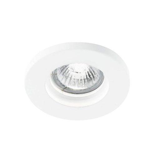 Intec Süllyesztett Gipsz Lámpatest Kör , Mr16 Gu10 Fehér