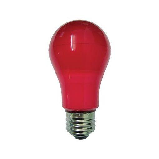 Duralamp E27 Led Piros 6W Normál Izzó Forma
