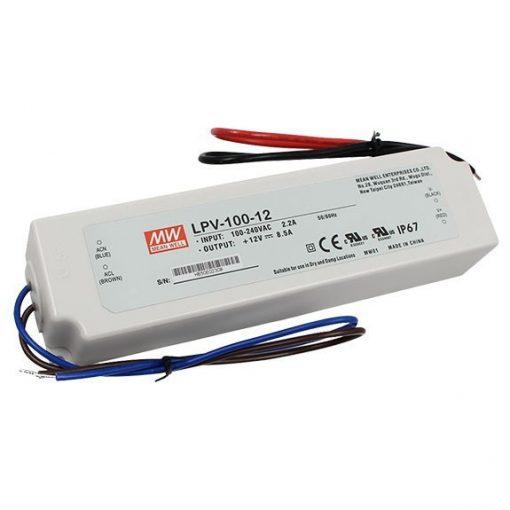 Mean Well LPV-100-12 kültéri tápegység, 102W, 12V