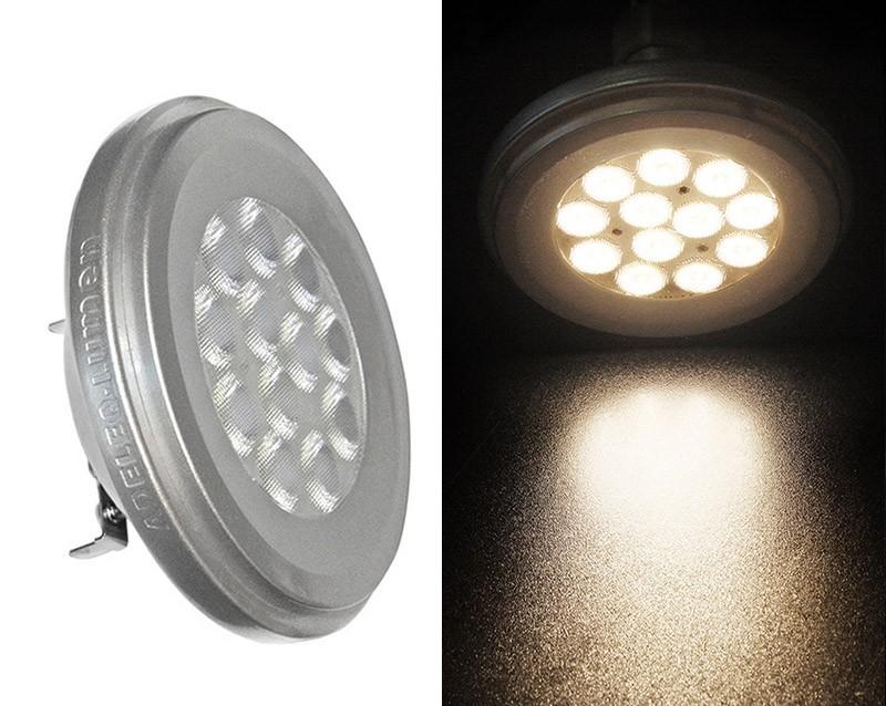 ADELEQ LED AR111 12V 12W 3000K, meleg fehér 860lm G53