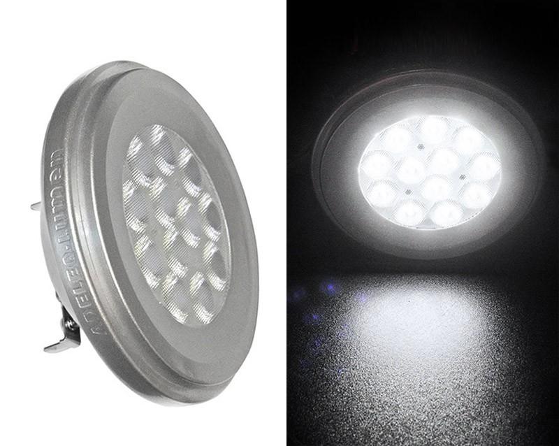 ADELEQ LED AR111 12V 12W 4000K, természetes fehér 870lm G53