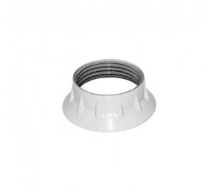 Rögzítő Gyűrű E27 Műanyag Foglalathoz (Fehér)
