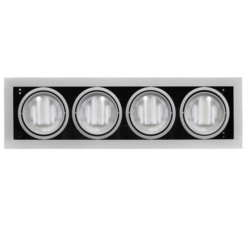 Adeleq Ar111 Sülyesztett Lámpatest Ezüst Max. 4X100W