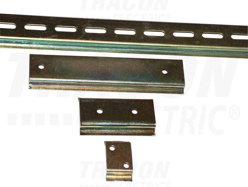 Szerelősín - perforált 35/7.5mm, l=1000mm