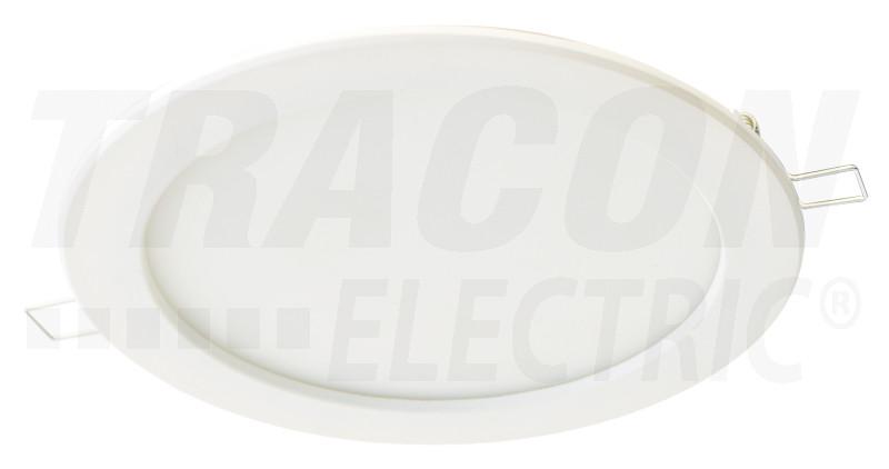 Védett, beépíthető LED mélysugárzó, fehér 230 VAC, 12 W, 4000 K, 840 lm, IP44, EEI=A